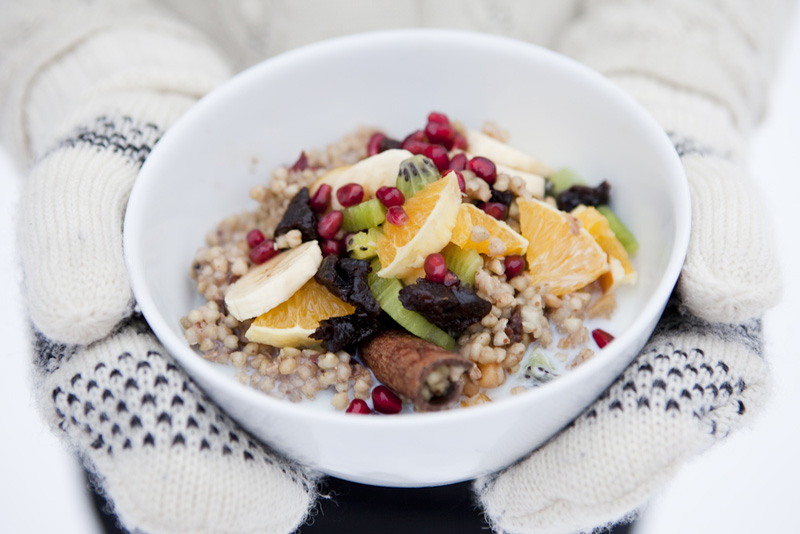 Winter Buckwheat Porridge