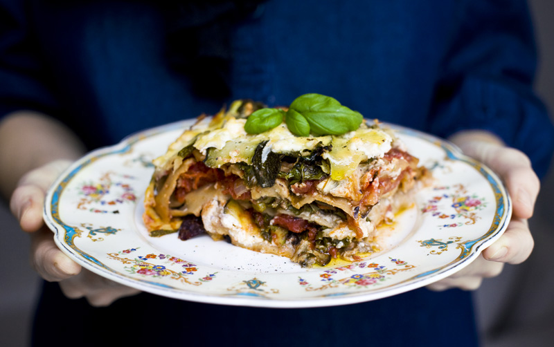 World's Greatest Vegetable Lasagna!
