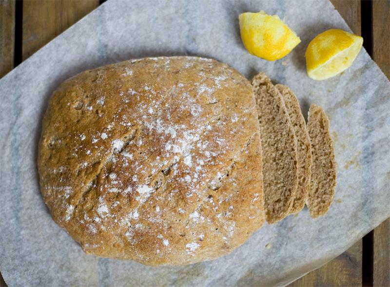 Lemon Spelt Bread