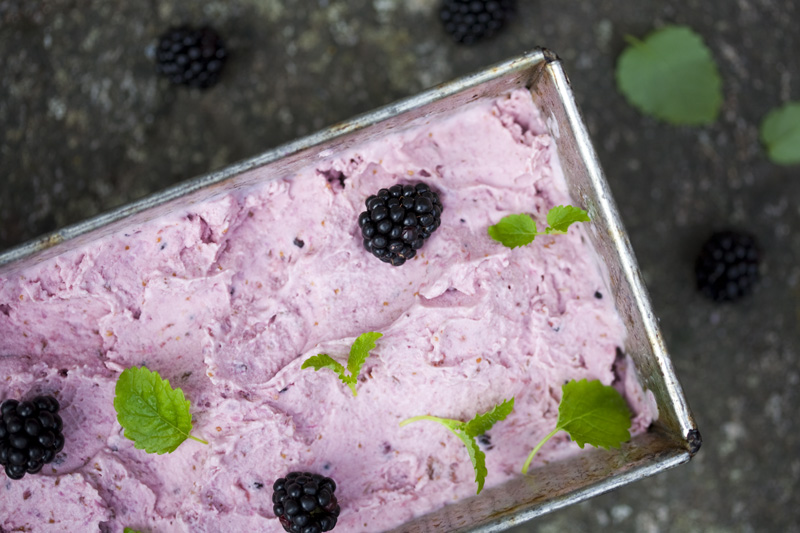 Fig, Coconut & Blackberry Ice Cream