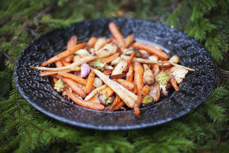 Cinnamon Roasted Vegetables