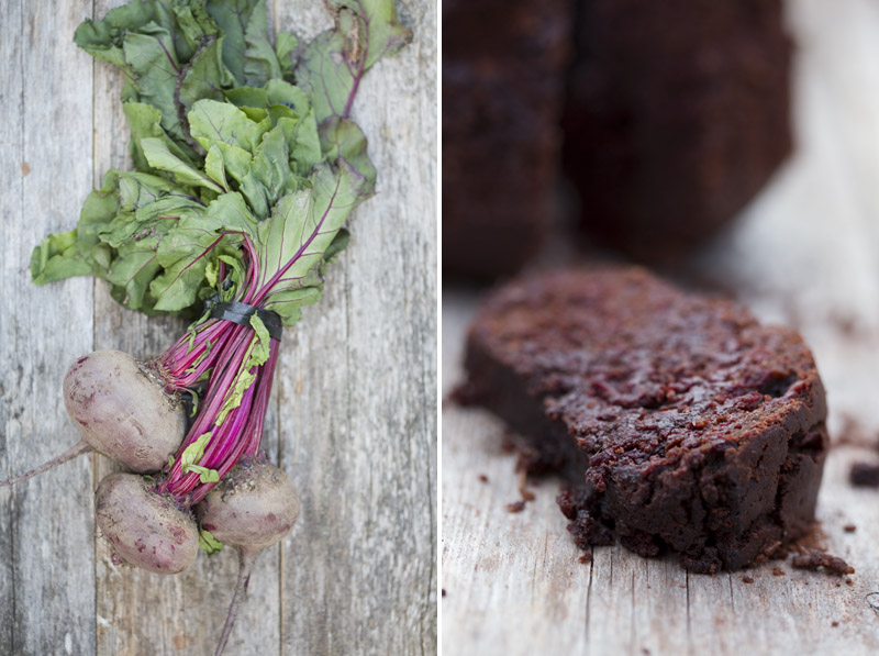 Grated Beetroot Chocolate Cake