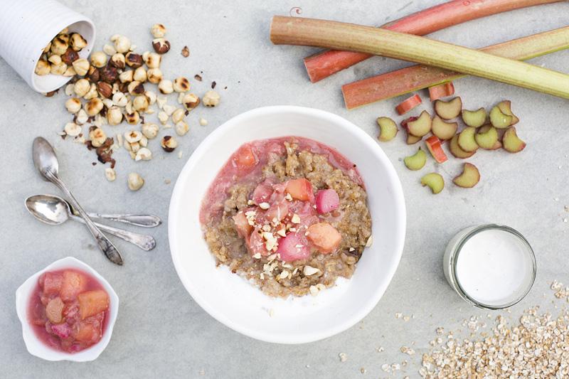Rye, Rhubarb & Beer Porridge