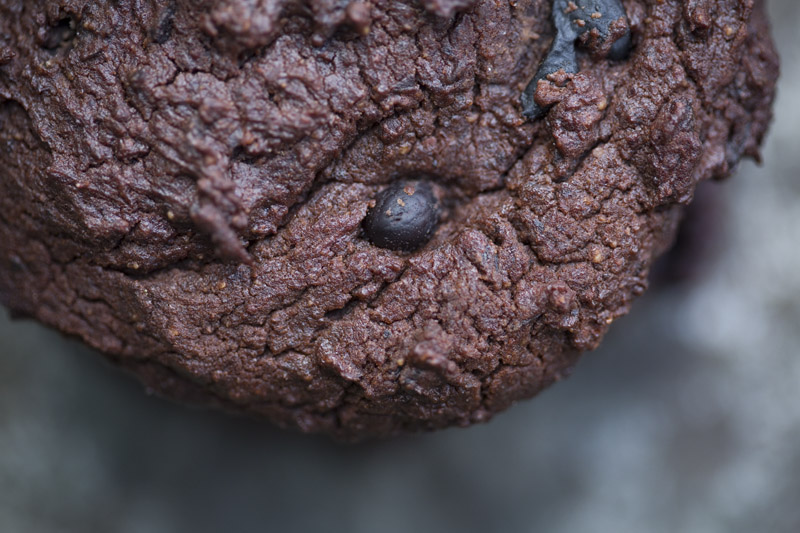 Chocolate Black Bean Power Cookies