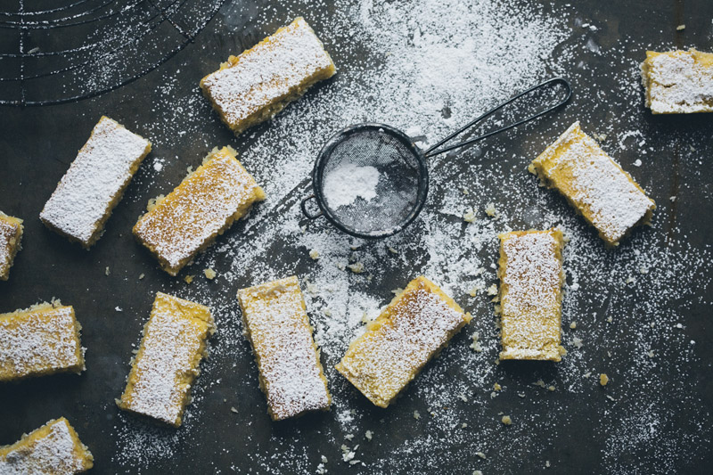 Perfect Lemon & Coconut Bars