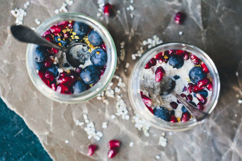 Raw Buckwheat Porridge De Luxe