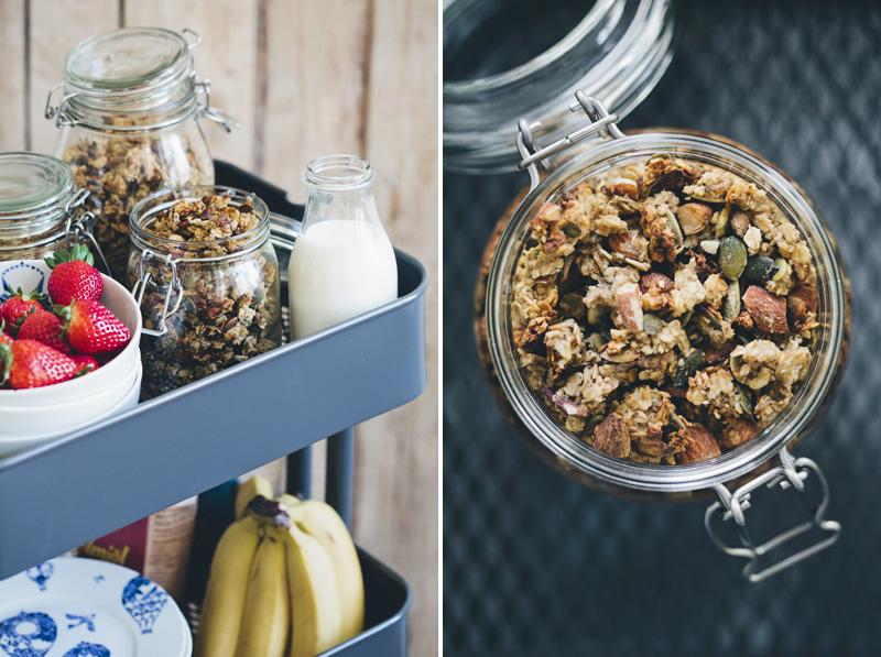 Green Kitchen Stories Banana Granola