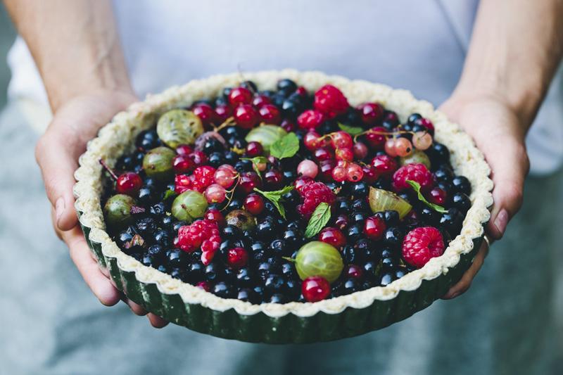 A Wild Berry Tart