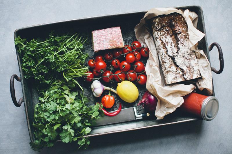 Pebre & Taleggio Rye Sandwich