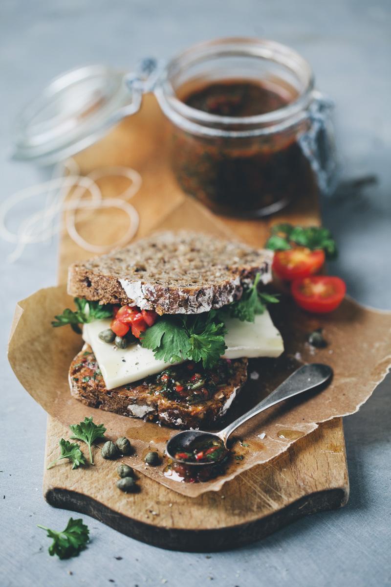 Green Kitchen Stories » Pebre & Taleggio Rye Sandwich