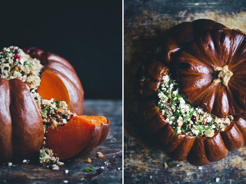 Green Kitchen Stories » Holiday Stuffed Pumpkin