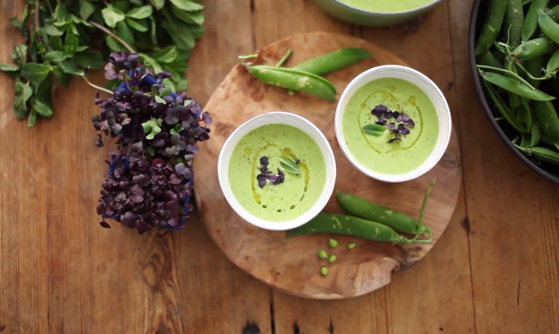 Pea_mint_coconut_soup
