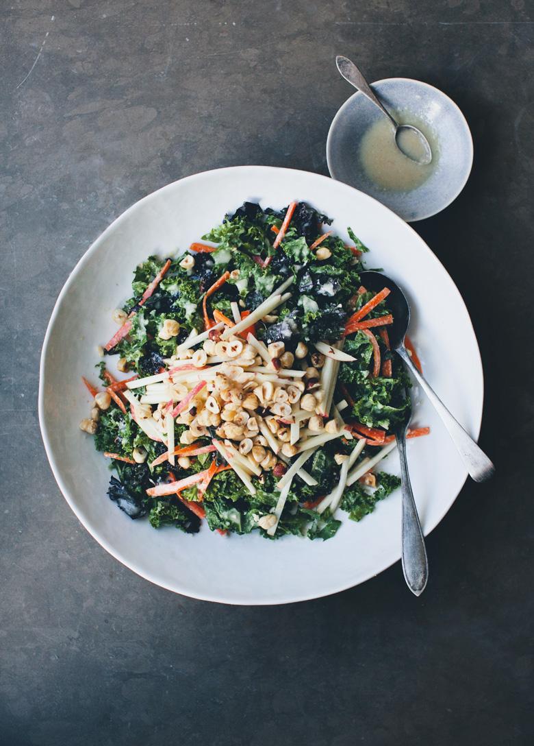 Green Kitchen Stories » Autumn Kale Slaw + Movie Night