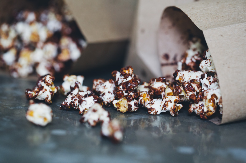 Dark Chocolate & Sea Salt Popcorn