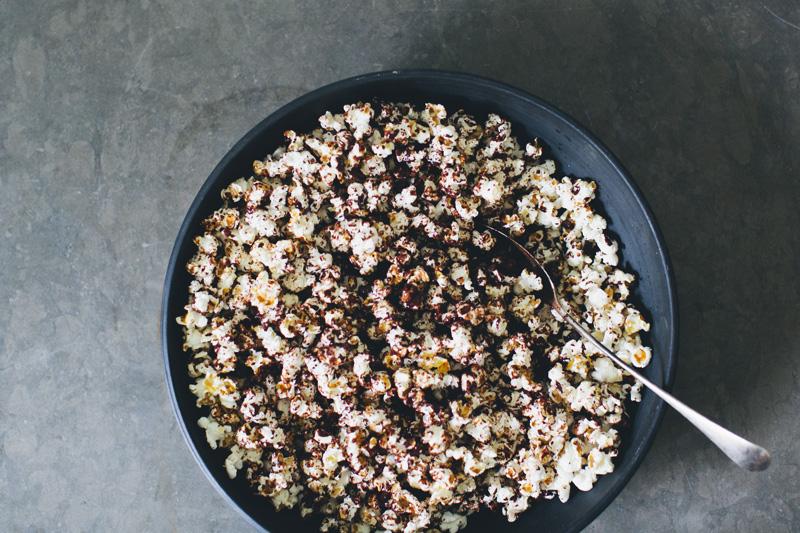 Sea Salt & Dark Chocolate Popcorn