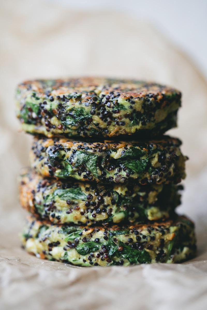 Green Kitchen Stories » Spinach_quinoa_patties_2