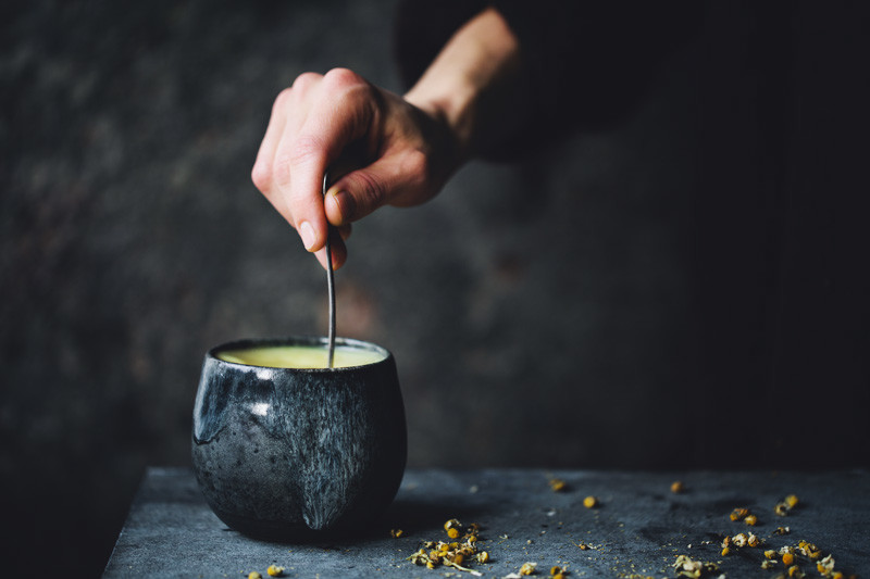 Chamomile & Turmeric Evening Tea