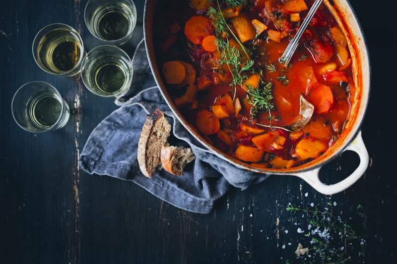 Vegetarian Bouillabaisse