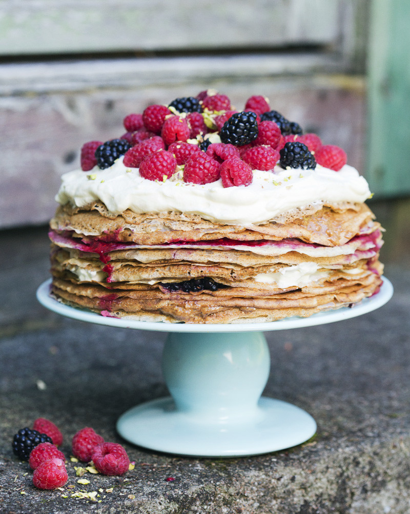 Swedish Pancake Cake
