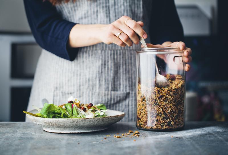 Savoury Buckwheat Granola Green Kitchen Stories