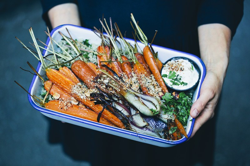 Roasted Carrots & Dukkah + Meaning