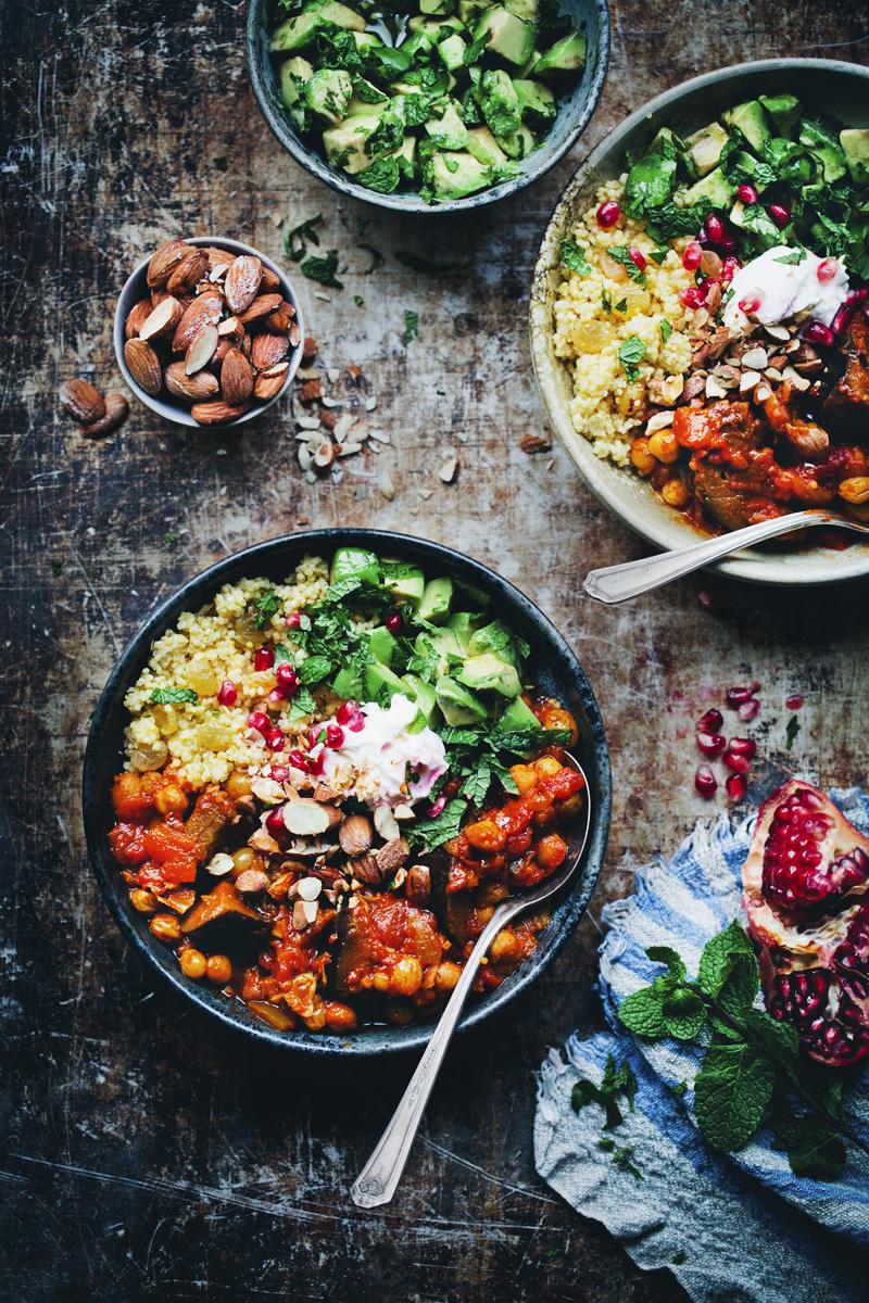 Green Kitchen Stories » Moroccan Aubergine & Chickpea Stew