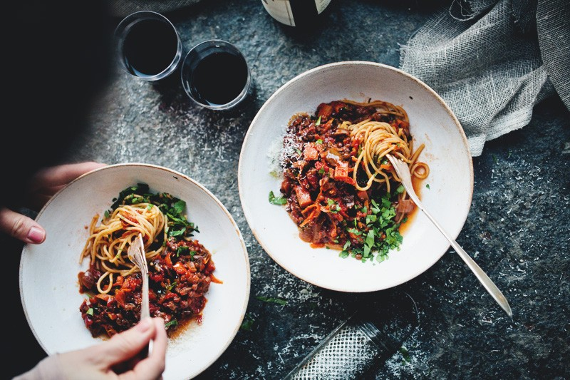 Black Lentil & Vegetable Bolognese