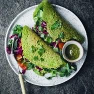 Green_vegan_chickpea_pancake_2