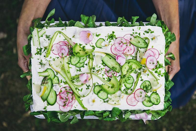 Smörgåstårta ? Savory Rye Sandwich Cake