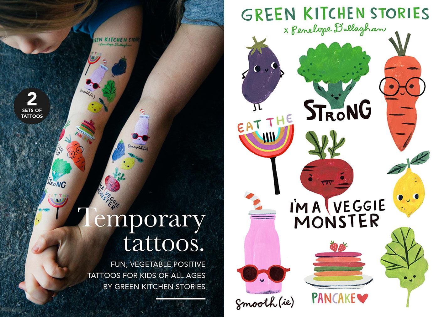 Vegetable Tattoos Green Kitchen Stories